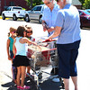 Diane Raver | The Herald-Tribune<br /> Prior to the parade, Sisters of St. Francis members offered free popsicles to the youngsters.