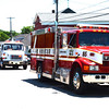 Diane Raver | The Herald-Tribune<br /> Eagle Fire Co. fire trucks led the procession.