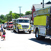 Diane Raver | The Herald-Tribune<br /> Many fire trucks were in the parade procession.