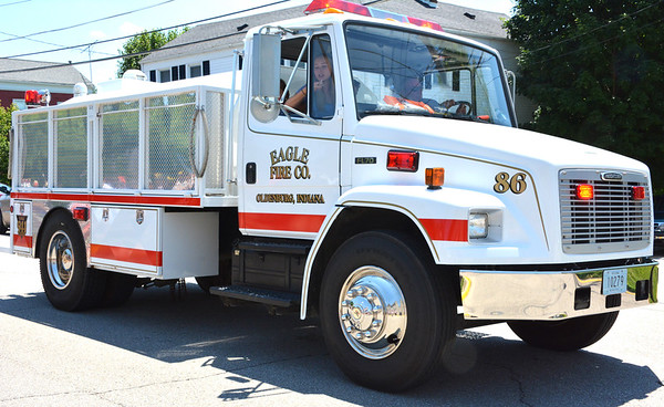 Diane Raver | The Herald-Tribune Eagle Fire Co. members showed off all their vehicles.