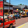 Diane Raver | The Herald-Tribune<br /> There were many parade entries in the procession, including the Freudenfest float.