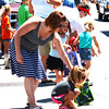 Diane Raver | The Herald-Tribune<br /> Youngsters were treated to lots of candy during the parade.