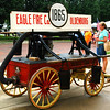 Debbie Blank | The Herald-Tribune<br /> FIREFIGHTING HISTORY: One of the early vehicles is displayed once a year at the fest to show the public how far Eagle Fire Co. has come.