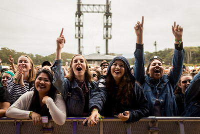 Lany performs during the Outside Lands Music Festival 2016 in Golden Gate Park, San Francisco California.