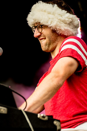 Vulfpeck performs during the Outside Lands Music Festival 2016 in Golden Gate Park, San Francisco California.