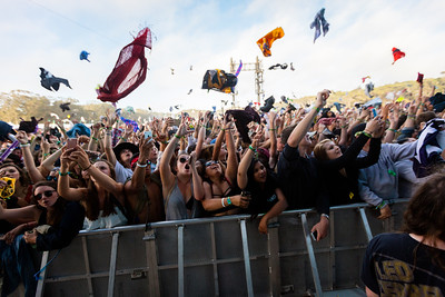 Major Lazer performs during the Outside Lands Music Festival 2016 in Golden Gate State Park, San Francisco CA.