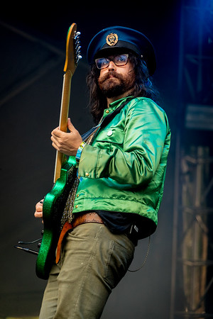 The Claypool Lennon Delirium performs during the Outside Lands Music Festival 2016 in Golden Gate Park, San Francisco California.