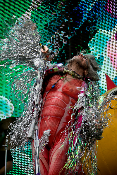 The Flaming Lips perform during the Outside Lands Music and Arts Festival 2014 in Golden Gate Park, Sanfrancisco CA.