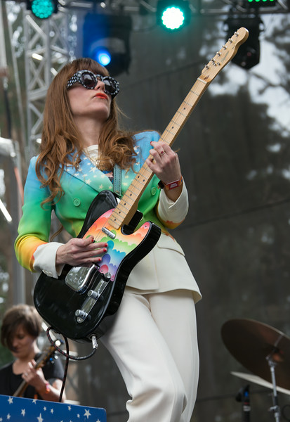 Jenny Lewis performs during the Outside Lands Music and Arts Festival 2014 in Golden Gate Park, Sanfrancisco CA.