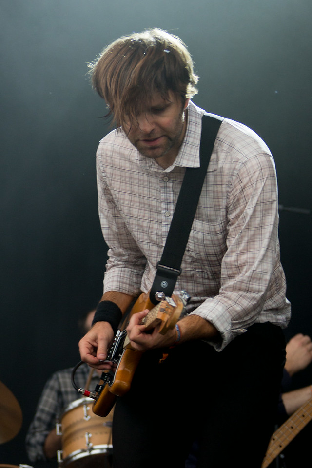 Death Cab For Cutie performs during the Outside Lands Music and Arts Festival 2014 in Golden Gate Park, Sanfrancisco CA.