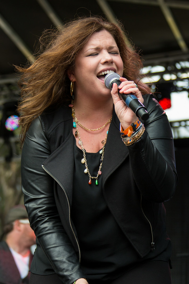 Janis Joplin Tribute Band performs during the Outside Lands Music and Arts Festival 2014 in Golden Gate Park, Sanfrancisco CA. Special Guest Mary Bridget Davies.