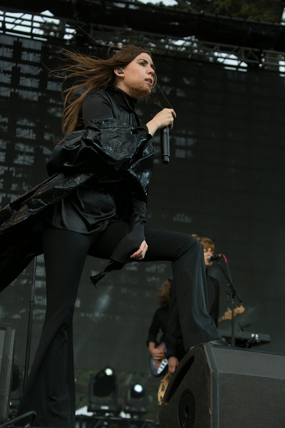 Lykke Li performs during the Outside Lands Music and Arts Festival 2014 in Golden Gate Park, Sanfrancisco CA.