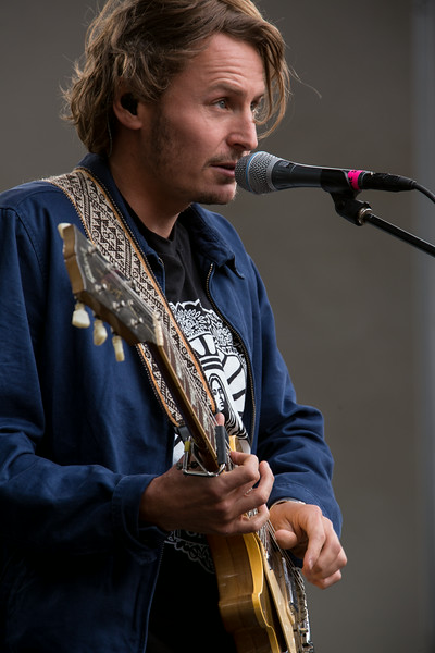 Ben Howard performs during the Outside Lands Music and Arts Festival 2014 in Golden Gate Park, Sanfrancisco CA.