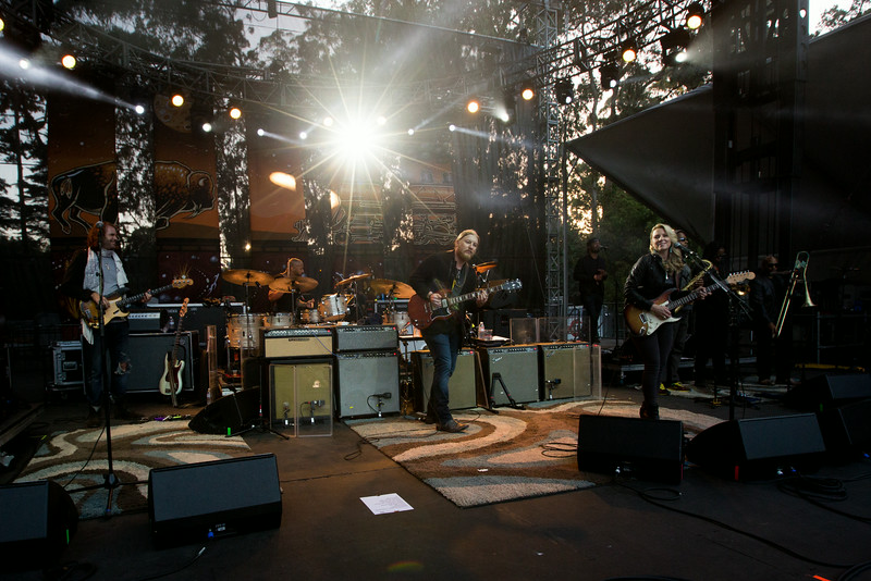 Tedeschi Trucks Band performs during the Outside Lands Music and Arts Festival 2014 in Golden Gate Park, Sanfrancisco CA.