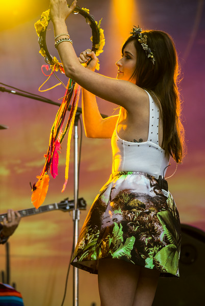 Kacey Musgraves performs during the Outside Lands Music and Arts Festival 2014 in Golden Gate Park, Sanfrancisco CA.