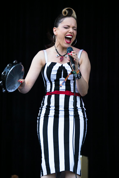 Imelda May performs during the Outside Lands Music and Arts Festival 2014 in Golden Gate Park, Sanfrancisco CA.