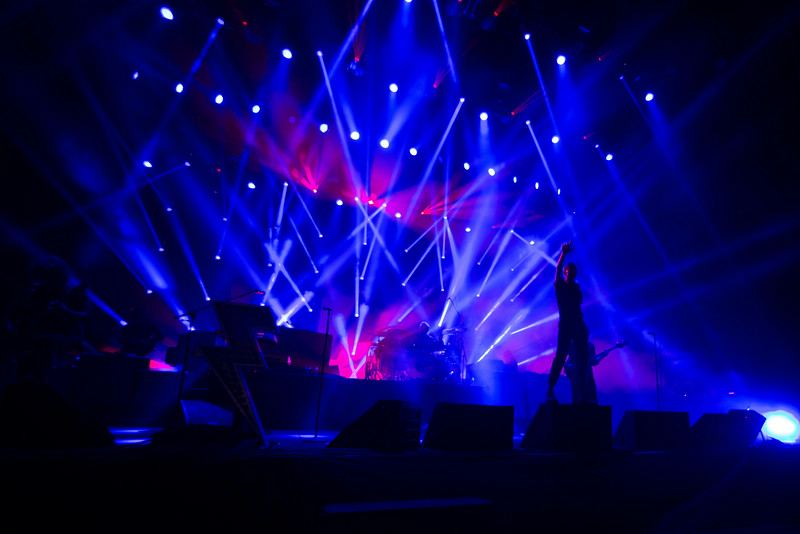 The Killers performs during the Outside Lands Music and Arts Festival 2014 in Golden Gate Park, Sanfrancisco CA.