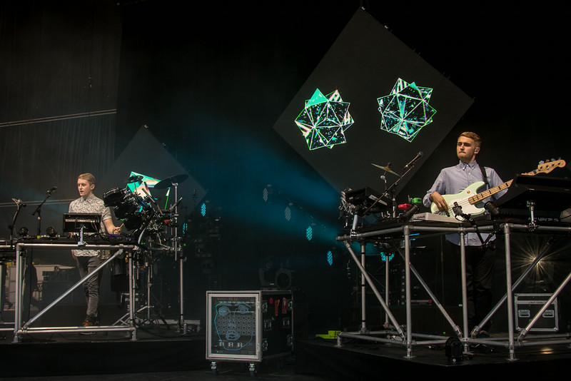 Disclosure performs during the Outside Lands Music and Arts Festival 2014 in Golden Gate Park, Sanfrancisco CA.