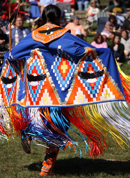 Native Indian Pow Wow Mohicaan Ohio USA Dance Dress