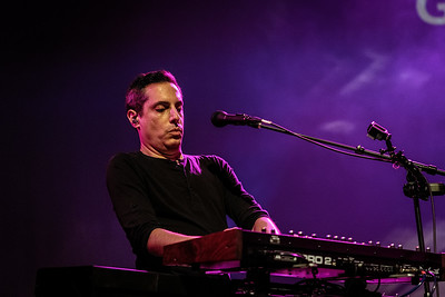 Captured during the TOM BRISLIN AND FRIENDS performance at ProgStock Festival 2018, Union County Performing Arts Center, Rahway, NJ (October 7th, 2018)