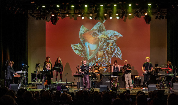 Captured during the PHIDEAUX performance at ProgStock Festival 2019, Union County Performing Arts Center, Rahway, NJ (October 11th, 2019)