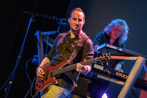 Captured during the SAGA performance at ProgStock Festival 2019, Union County Performing Arts Center, Rahway, NJ (October 13th, 2019)