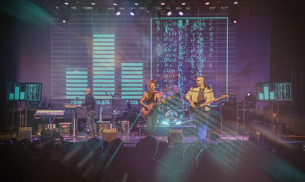 Captured during THE CYBERIAM performance at ProgStock Festival 2019, Union County Performing Arts Center, Rahway, NJ (October 10th, 2019)
