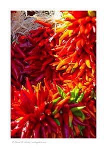 Chili wreaths, Pueblo Chili and Frijole Festival