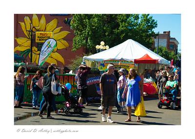 Street scene, Pueblo Chili and Frijole Festival