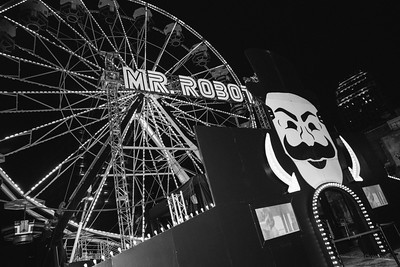 USA Mr Robot Ferris Wheel at SXSW 2016