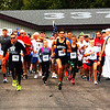 Debbie Blank | The Herald-Tribune<br /> About 190 walked or ran in the 5K. The Flying Tigers Sea Cadets Squadron sent off the participants with salutes. Many more photos of this event and the Sunman Fall Fest may be viewed on our website.