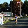 Debbie Blank | The Herald-Tribune<br /> Ally Reyes, 23, Terre Haute, was the fastest female runner with a 19:33. Her boyfriend, Brad Barry, was the quickest man at the 5K.