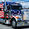 Debbie Blank | The Herald-Tribune<br /> Two days before Patriot Day, the anniversary of Sept. 11, 2001, a Lawrenceburg truck helps the crowd remember that tragedy.