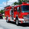 Debbie Blank | The Herald-Tribune<br /> Many Sunman Rural Fire Department trucks took part in the procession.