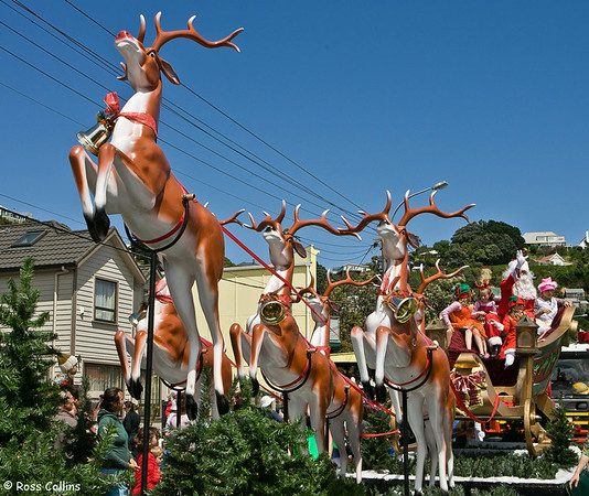 Seatoun Christmas Parade, Wellington, 13 December 2008