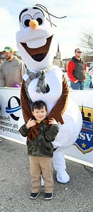 Olaf brought smiles to everyone's faces.