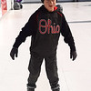 Zachary Vanderver, 10, Batesville, glides across the skating rink.