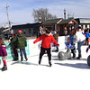 Skaters of all ages took a spin around the rink.