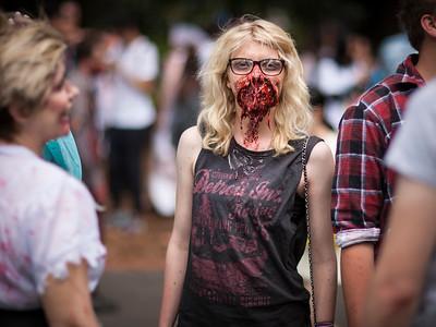 Zombie Walk, Melbourne 2015