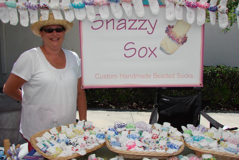 "Arlene Marker -  <a href=""http://www.snazzysox.com"">http://www.snazzysox.com</a>"