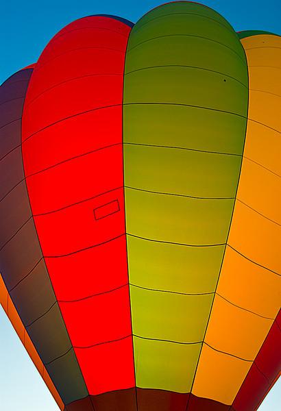 Backlit Balloon, Albuquerque Balloon Fiesta