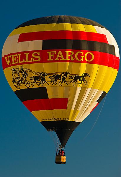Wells Fargo Balloon at Albuquerque Balloon Fiesta