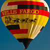 Wells Fargo Balloon at Albuquerque Balloon Fiesta