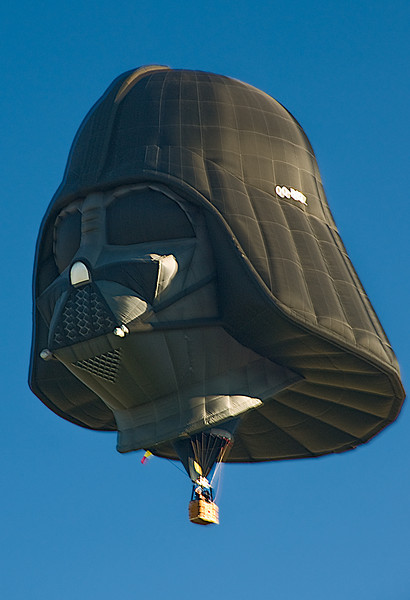 Darth Vader Balloon, Albuquerque Balloon Fiesta