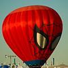Spiderman Balloon, Albuquerque Balloon Fiesta