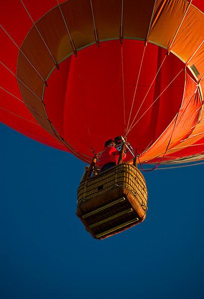 Cockpit, Albuquerque Balloon Fiesta