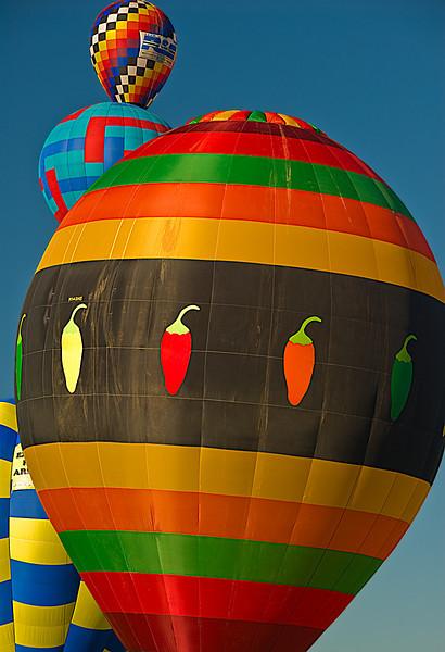 Chilis Balloon, Albuquerque Balloon Fiesta