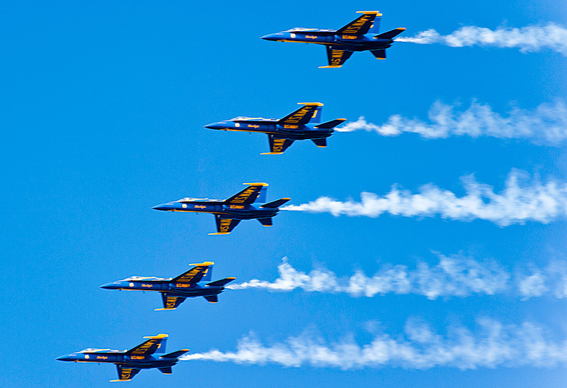 Blue Angels, Fleet Week Air Show, San Francisco