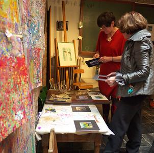 Thérèse Loriaux expose à L'Art Récréation à Mons, mars 2013