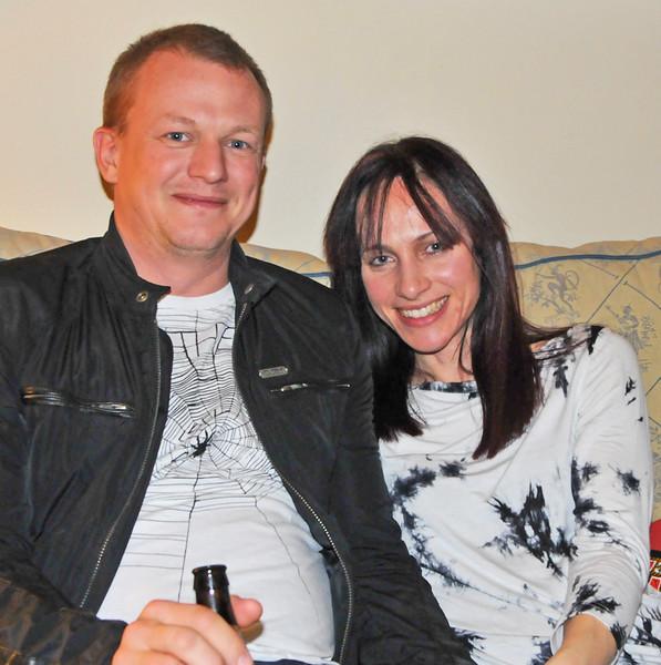 Gavin and Corinne Hurst